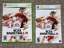 NCAA Basketball 10 Xbox 360 Replacement Case Artwork & Manual ONLY NO GAME