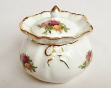Royal Albert Old Country Roses Dorothy POT/Ciondolo E COPERCHIO