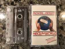 Michael Jackson Heal The World Cassette! 1991 Sheila E Madonna Prince
