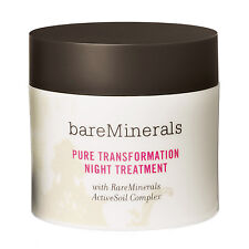 Bare Minerals Pure Transformation Night Treatment (Clear) 4.2g/ 0.15 oz