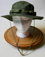 BOONIE HAT, JUNGLE O.D. 50-50 NYCO RIPSTOP, MIL-SPEC., R&B, SZ.  7 3/4(XL) NEW!