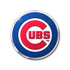 Chicago Cubs Die-Cut Metal Auto Emblem [NEW] MLB Car Decal Sticker CDG