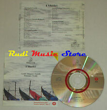 CD I MUSICI CORELLI BONPORTI PAISIELLO TELEMANN VIVALDI ermitage 1993 lp mc dvd