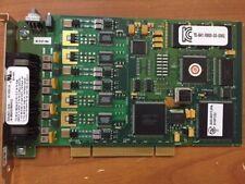 Dialogic Corp 44-0053-02 4-Port Telephone Board GM525207 A03-0017JPA