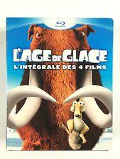 Coffret 4 Blu Ray L'age De Glace 1 2 3 4 / L'INTEGRALE Des 4 Films
