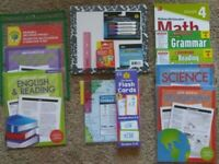 4th Fourth Grade: Homeschool Curriculum Math, Grammar, Reading, Science History