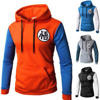 Anime Dragon Ball Warm 3D Z Son Sweatshirt Goku Cosplay Jacket Thick Coat Hoodie