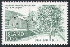 Iceland 1984 Order of Templars/People/Buildings/Architecture/Trees 1v (n41823)