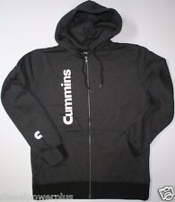 MEDIUM dodge cummins hoodie sweat shirt zippered hooded sweater truck cummings