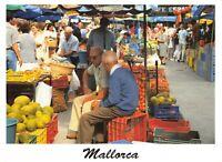 Spain Majorca Mallorca Postcard, Fruit and Vegetables Market GT1