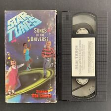 Star Tunes - Songs Of The Universe - Dan Cooper - VHS Tape