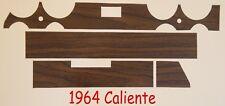 1964 OR 1965 OR 1966 Mercury Comet Caliente Wood Grain Dash Inserts
