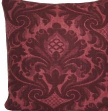 Traditional English Cushion Cover Damask Printed Cotton Fabric Marvic