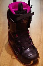 NEW Atomic Jade Womens Snowboard Boots - UK Size 6.5 (US 8) - Black/Black/Purple
