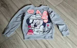 Girls Minnie Mouse Jumper Size 5-6 Years