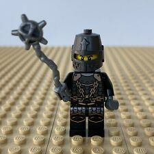 LEGO Castle: Dragon Flail Knight, HELMET, FLAIL, MACE, SILVER