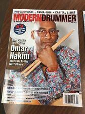 MODERN DRUMMER MAGAZINE-OMAR HAKIM JULY 2014-EUC Wm3