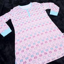 JANE & BLEECKER Womens 1/4 Button Long Sleeve GOWN SLEEPWEAR Size Large L NWT NE