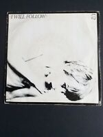 "U2 I Will Follow 7"" Vinyl Single P/S CBS Irish Press 1982 Reissue VG/VG SCBS9065"
