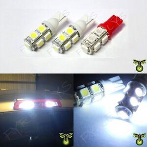 2 White 1 Red LED Truck Cargo Area Bed Lights & 3rd Third Brake light bulbs
