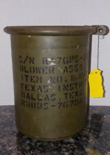 vintage very RARE military blower motor canister. With blower motor!! 1954
