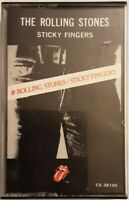 Sticky Fingers by The Rolling Stones (Cassette, 1977, Rolling  Stones Records)