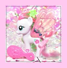 "❤️My Little Pony 3"" Brushable Water Cuties Blossomforth Pegasus G4 Glitter❤️"