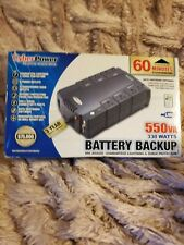 Tripp-Lite Battery Backup 550VA UPS & Surge Protector Perfect for Home Office
