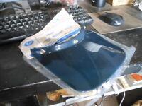 NOS Vintage Buco 3 Snap Blue Helmet Duckbill Duck Bill Big Mudder Visor USA 1133