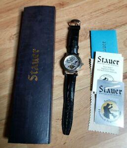 STAUER  AUTOMATIC SKELETON BACK #19782 Watch series 7 regulator II