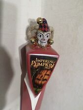 "Weyerbacher Imperial Pumpkin  Clown Court Jester Joker  12"" Beer Keg Tap Handle"