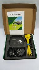 Dog Wireless Fence Pet Electric System, As-7 Rechargeable - 900 Foot Radius