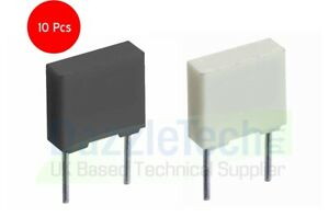 Polyester Poly Box Capacitor R82 series 1nF to 1uF choose from 18 values Pack 10