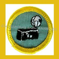 PHOTOGRAPHY Cadette Girl Scout Badge NEW Patch Camera Flash Multi=1 Ship Chrg