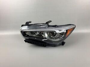 2014 2015 2016 2017 Infiniti Q50 Left LH Driver Side LED Headlight NSF
