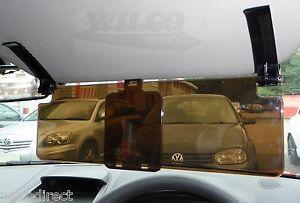 Car Sun Visor Extension Extender Clip on Glare Reducer Low Sun Driving Protector