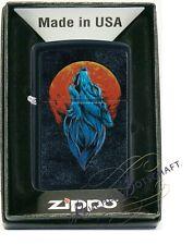 ZIPPO WOLF and MOON mit toller Haptik  mit oder ohne Geschenketui       60005571