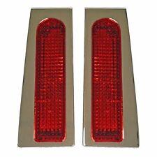 CUSTOM DYNAMICS FILLERZ RED LED TAIL LIGHT INSERTS FOR HARLEY 2014-2017 MODELS