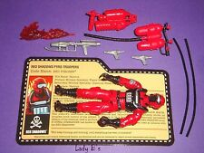 2010 Red Torches V.1 - GIJOE Figure - Pyro-Troopers - 100% Comp JOECON  (AX3)