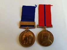 More details for queen victoria 1887 & edward vii 1902 coronation police medals,inspector wiles