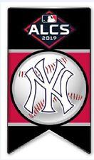 2019 NEW YORK YANKEES ALCS BANNER PIN MLB AMERICAN LEAGUE CHAMPIONSHIP SERIES