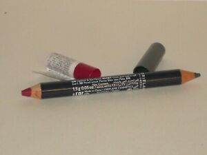 ORIFLAME SWEDEN ON COLOUR LIP & EYE DUO CRAYON # BERRY & GREY 1.5 g.  NEW!