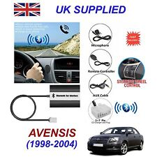 AVENSIS Bluetooth Hands Free Phone AUX Input MP3 USB 1.0A Charger Module 5+7P