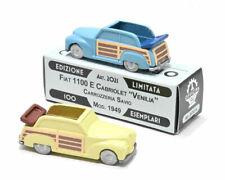 # 1:76 FIAT 1100E CABRIOLET VENILLA SAVIO OFFICINA 942 (ART. 2021) RESINA MIB #