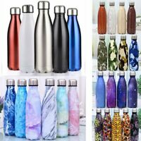 Vacuum Insulated Water Bottle 350-100ml Cola Stainless Steel Double Walled Shape