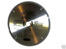 "2 pcs 10"" saw blades 120th carbide teeth Miter Saw Table Saw Wood Cutting"