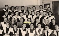 *Back To USSR* Soviet Russian LARGE Photo Girls School Communist Youth VLKSM b2