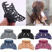 Fashion Women's Large Plastic Hair Claw Clamp Clips Shower Hairpin Accessories