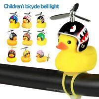 Children Adults Bike Bicycle Handlebar LED Lamp Horn Bell Ring Alarm Speaker