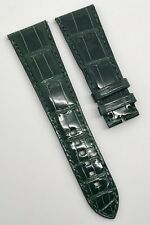 Authentic Harry Winston 23mm X 18mm Green Alligator Strap Band Brand New OEM
